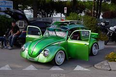 Volkswagen Maggiolino 1200 (Andrea the sleeper) Tags: käfer beetle bbs rims modified turbo aspired jesolo faro del spiaggia raduno