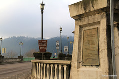 St Johns Bridge (Susan Stienstra) Tags: oregon stjohnsbridge bridge suspensionbridge willametteriver stjohns pacificnorthwest
