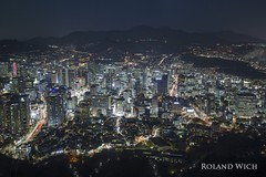 Seoul (Rolandito.) Tags: south korea südkorea coree du sud seoul cityscape skyline night nacht evening