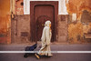 The Rose City - Marrakech, Morocco (Naomi Rahim (thanks for 3 million visits)) Tags: marrakech marrakesh morocco africa northafrica travel travelphotography nikon nikond7200 wanderlust contiki streetphotography street architecture pink woman person walking muslim islamic traditionalclothes therosecity مراكش meṛṛakec maroc shopping trolley