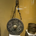 Antique gong with dragons