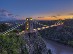 Here Today Gone Tomorrow (Wizard CG) Tags: clifton suspension long exposure landscape epl7 england architecture ed bristol ngc world trekker micro four thirds 43 m43 olympus mzuiko digital tourist attraction outdoor bridge hdr longexposure sunset skyline serene