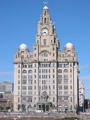 Architecture0268 (michaeldawes) Tags: liverpool liver liverbird 3graces pierhead