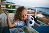 Good  Night Story (mravcolev) Tags: child girl evening story good night tale bedtime plush dog book reading sea summer curlyhair canoneos5dmarkii 5dmkii 5d2 35l canonef35mmf14lusm