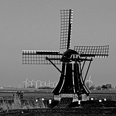 Workum, Frise, Netherlands (pom.angers) Tags: panasonicdmctz10 march 2011 workum frise netherlands europeanunion windmill windturbines 100 150
