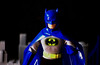 Dark Knight on a dark night (Decepticreep) Tags: brucewayne mego batman batcave batcomputer removablecowl gotham