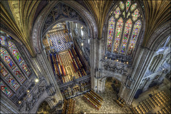 Ely Cathedral 21 (Darwinsgift) Tags: ely cathedral cambridgeshire interior hdr photomatix pce nikkor 24mm f35 ed church