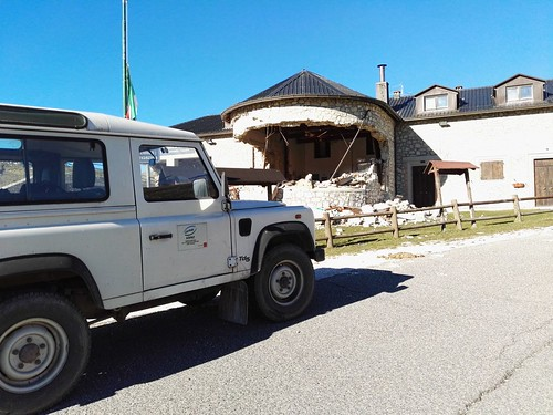 Rifugio Perugia sulla strada verso Norcia-Castelluccio