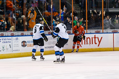"Missouri Mavericks vs. Wichita Thunder, February 3, 2017, Silverstein Eye Centers Arena, Independence, Missouri.  Photo: John Howe / Howe Creative Photography • <a style=""font-size:0.8em;"" href=""http://www.flickr.com/photos/134016632@N02/32591251451/"" target=""_blank"">View on Flickr</a>"