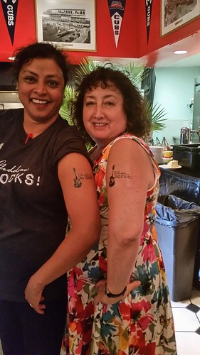 Crew Shot: Goddess Rocks! Tattoos