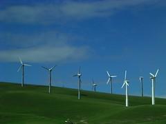 Altamont Windmills (jillmotts) Tags: california blue green geotagged windmills windfarm alamedacounty turbines altamont altamontpass livermoreca geo:tool=gmif geo:lat=37739227 geo:lon=121586380 jillmotts