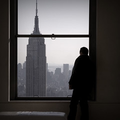 - nyc skyline manhattan topoftherock empirestatebuilding window