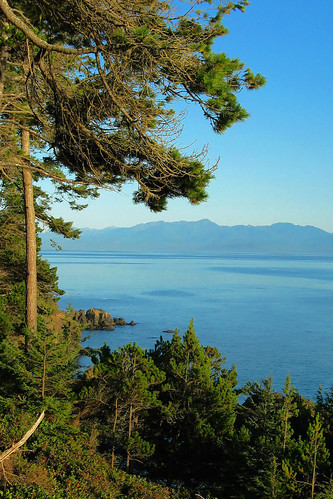 View from Sooke to Washington's Olympic Peninsula and Mountains. Photo Credit: P.M.graham on Flickr