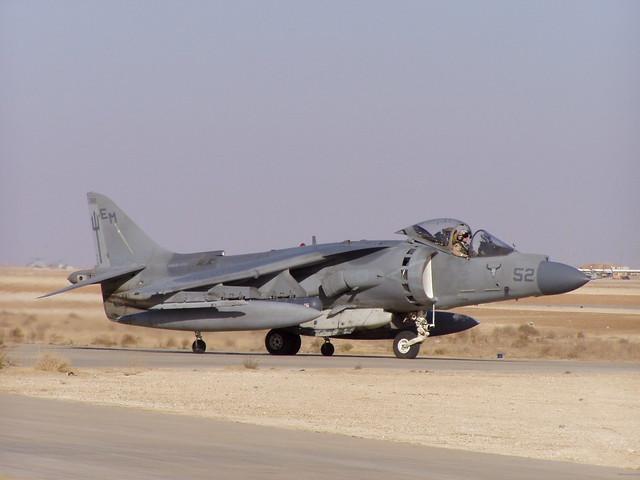 AV-8B. David Axe photo.