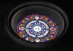 Ventana divina. (Eduardomo) Tags: españa church lafotodelasemana ventana spain catalonia iglesias cataluña cristalera camprodon lfscontraluces