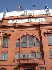 Ibrox Stadium, Glasgow - Front Entrance (tcbuzz) Tags: scotland football stadium glasgow rangers ibrox