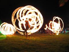 IMG_8711 (larinalou) Tags: light blur night fire slow australia qld shutterspeed firetwirling burleigh
