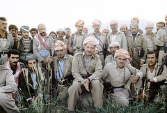 Iran and Iraqi Kurdish Refugees (Chris Kutschera) Tags: iran politique guerilla kurdistan barzani kurds combattant ziwa moyenorient personnalite massoudbarzani peshmerga kurdes samsahar2