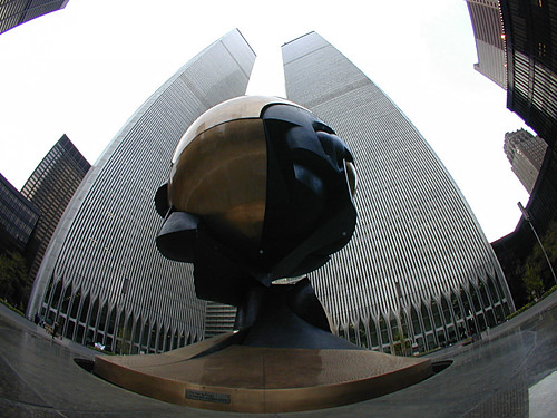World Trade Center Sculpture