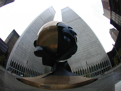 World Trade Center Sculpture