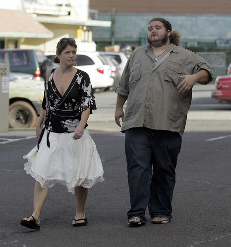 Jorge Garcia goes shopping