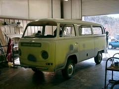 loosie looks Sad :(( (Mike D'Angelo) Tags: bus vw restoration teaser