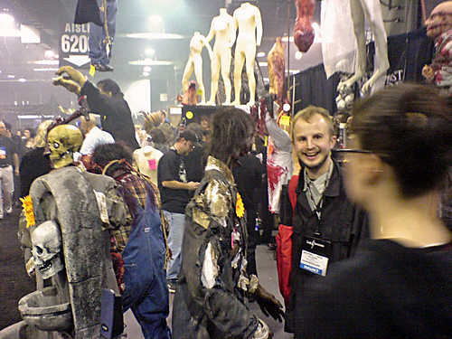 TransWorld Haunted Attraction Show 2006. Arrival.