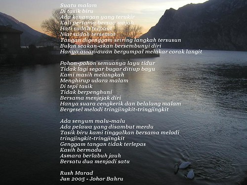 Puisi.Tasik Biru