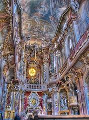 Asam Church Munich (Digitaler Lumpensammler) Tags: church munich geotagged powershot hdr a620 photomatix digitaler lumpensammler geo:lat=48134848 geo:lon=11569247 digitalerlumpensammler specobject frhwofavs digitalerllumpensammler
