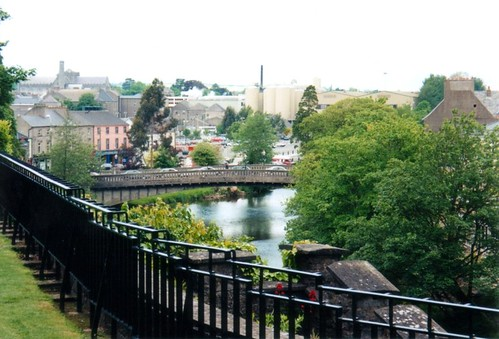 View of Kilkenny from the Castle
