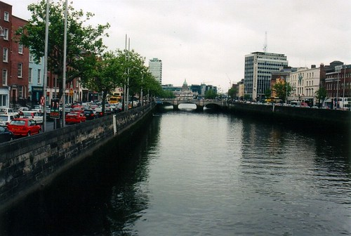 River Liffey from Ha'Penny Bridge