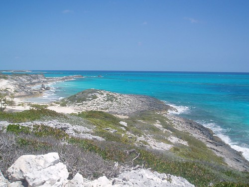 Atlantic view in Bahamas