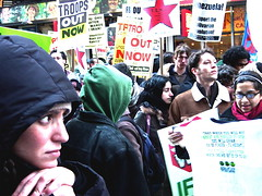 New York City Anti-War Demonstration