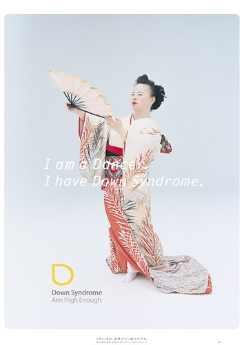 I am a Dancer. I have  Down Syndrome.