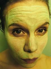 Green mask (hannanik) Tags: green face tag3 taggedout tag2 tag1 mask clay lookatme cosmetics kiss2 cosmetology kiss3 kiss1 kiss4 kiss5 junglearctic