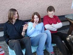 Zu dritt (austrianpsycho) Tags: julia smooth july smutek 2032006