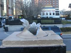 Vandalism (iirraa) Tags: new city newjersey nj atlantic wrong vandalism atlanticcity jersey brightonpark