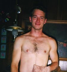Joel (Tobyotter) Tags: shirtless man male guy topv555 friend joel chest niceguy