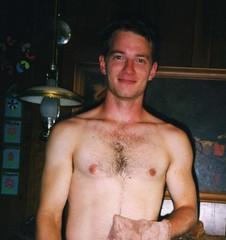 Joel (Tobyotter) Tags: shirtless man male guy topv555 friend joel chest niceguy