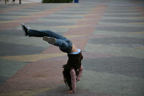 Headstand by aturkus, on Flickr
