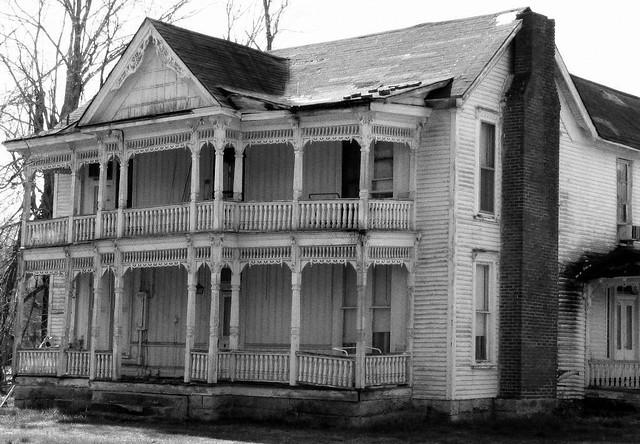Creaky old house