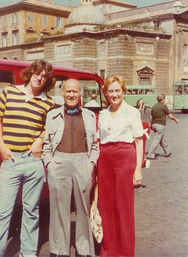 last month of being 18 in Rome with Grandfather and Aunt