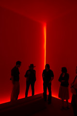 Turrell Corner Group (ken mccown) Tags: california light red architecture space turrell