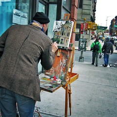 Grand Street: Painter