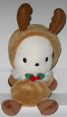 Pochacco Reindeer Beanie (Robozippy) Tags: cute fun toy toys sweet hellokitty adorable plush sanrio stuffedanimal pochacco