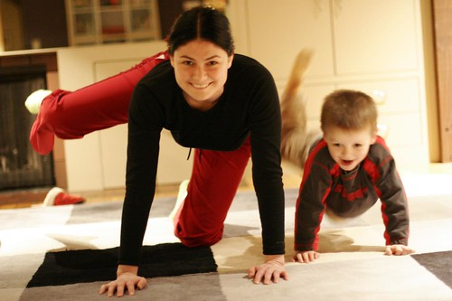 mother and son practice pilates for pregnancy - _MG_2985.JPG