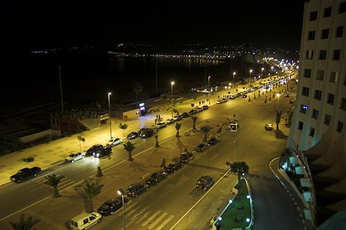 Corniche de Tanger by night par Milamber's portfolio