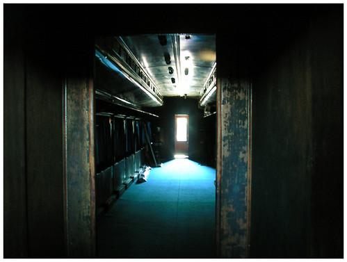 L o n e l y . s p a c e s -- chile train trains railway trenes museum old dark vagon lonely temuco coach