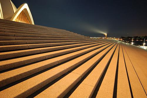 sydney opera house - surreal steps