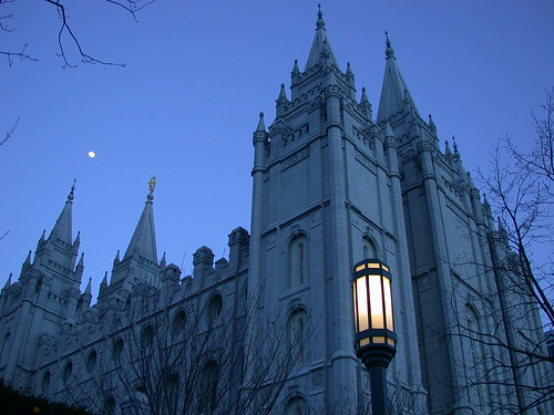 Salt Lake City Temple  --  Utah